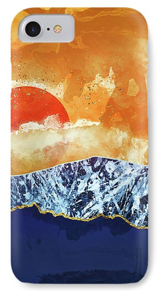 Landscapes iPhone 7 Case - Amber Dusk by Katherine Smit