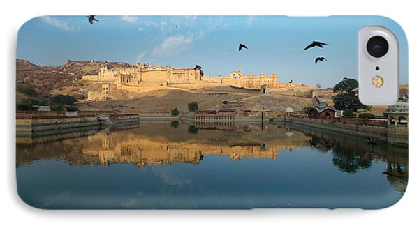 IPhone Case featuring the photograph Amber Fort  by Yew Kwang