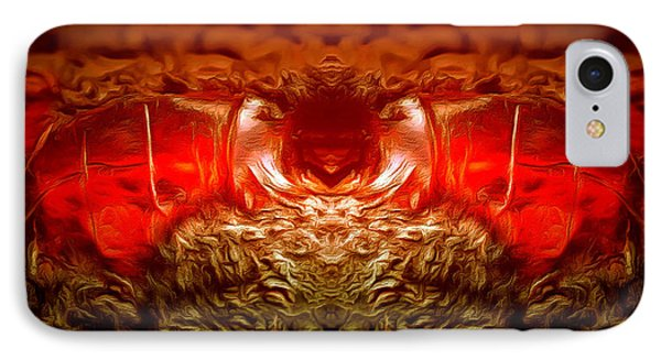 Amber Nightmare IPhone Case by Anton Kalinichev