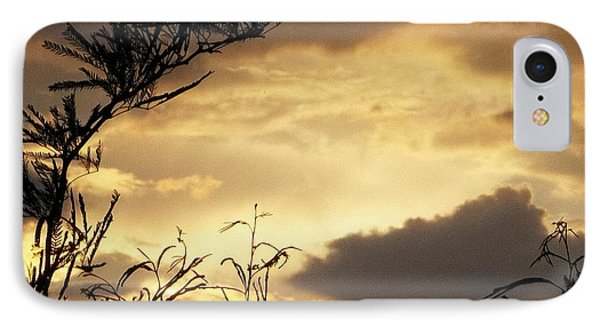 Amber Sky IPhone Case by Glenn McCarthy Art and Photography