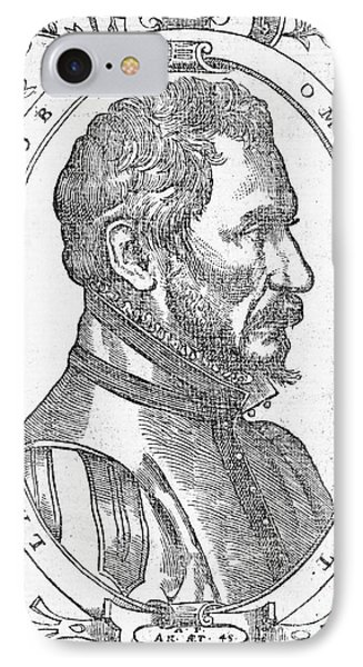 Ambroise Pare, French Surgeon, 1561 IPhone Case by Wellcome Images