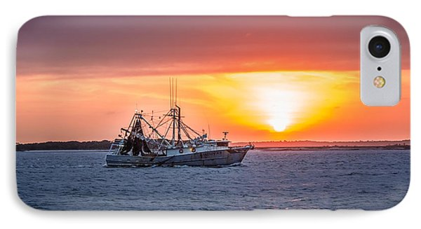 Amelia River Sunset 25 IPhone Case by Rob Sellers