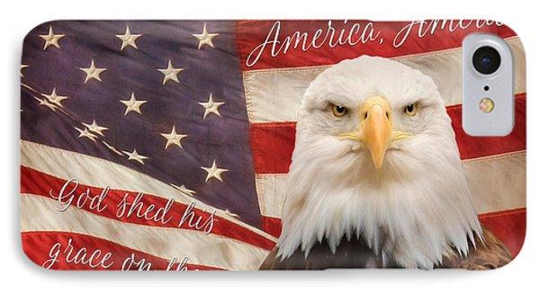 America, America IPhone Case by Lori Deiter