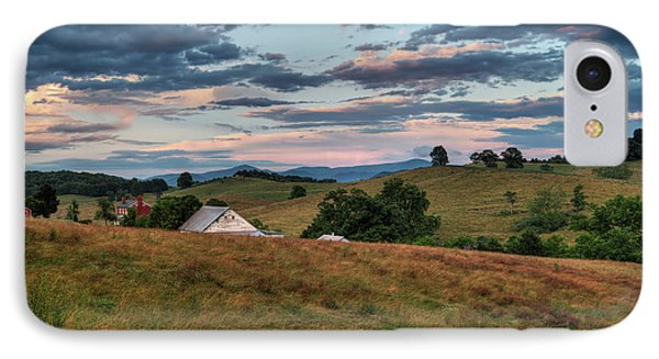 IPhone Case featuring the photograph America - Hills Of Virginia 001 by Lance Vaughn