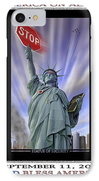 America On Alert II Phone Case by Mike McGlothlen