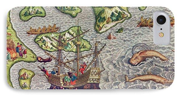 Americae Tertia Pars IPhone Case by Theodore de Bry