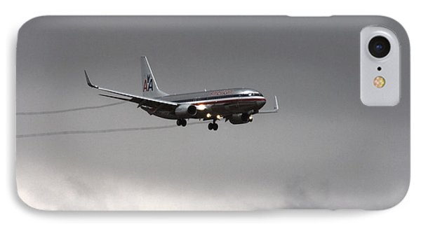 American Airlines-landing At Dfw Airport Phone Case by Douglas Barnard