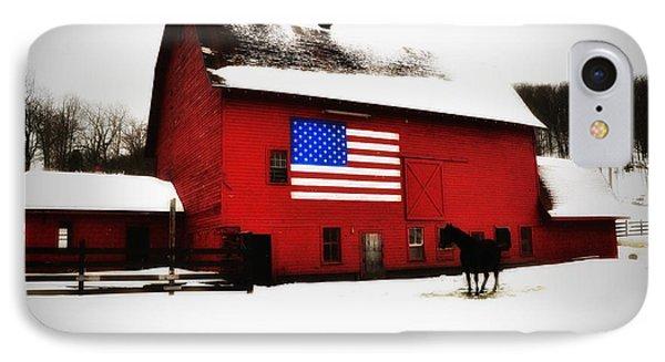 American Barn Phone Case by Bill Cannon