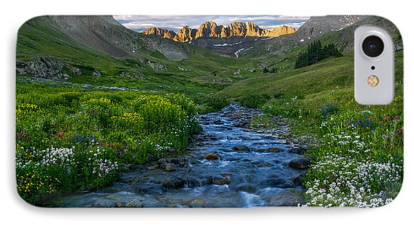 IPhone Case featuring the photograph American Basin Stream by Aaron Spong