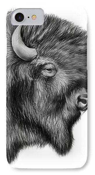 American Bison IPhone 7 Case by Greg Joens