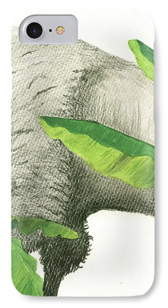 Banana iPhone 7 Case - American Buffalo 2 by Juan Bosco