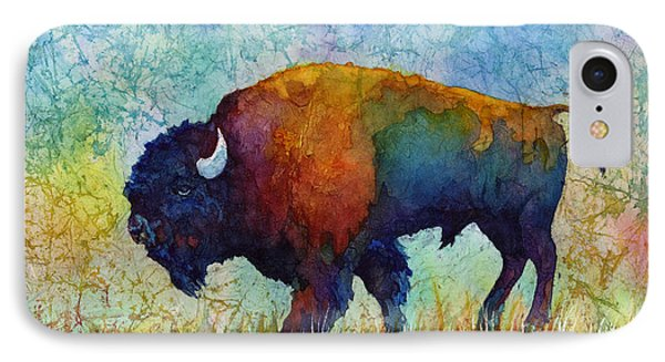 American Buffalo 5 IPhone Case by Hailey E Herrera