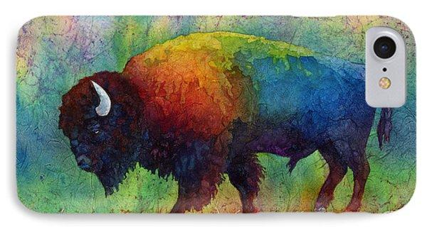 American Buffalo 6 IPhone 7 Case by Hailey E Herrera