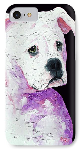 American Bully IPhone Case by Jan Matson
