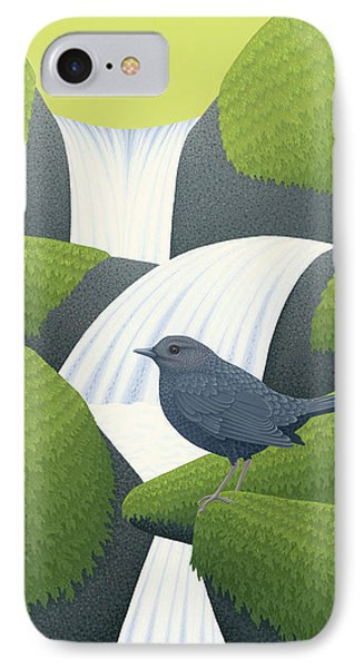 American Dipper IPhone Case by Nathan Marcy