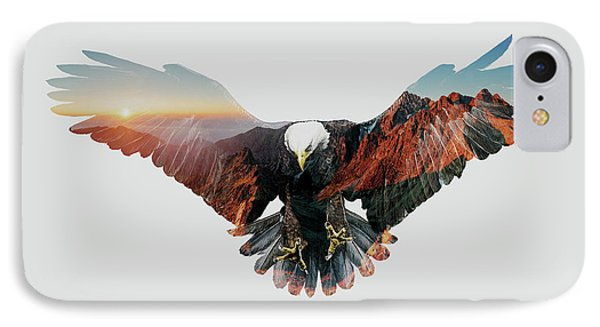 American Eagle IPhone 7 Case by John Beckley