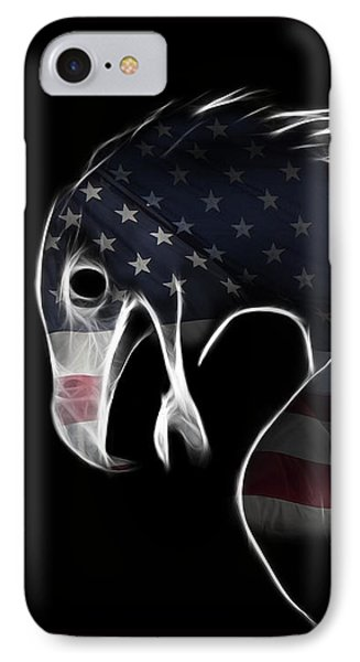 American Eagle IPhone Case by Melanie Viola