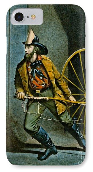 American Fireman 1858 Phone Case by Padre Art