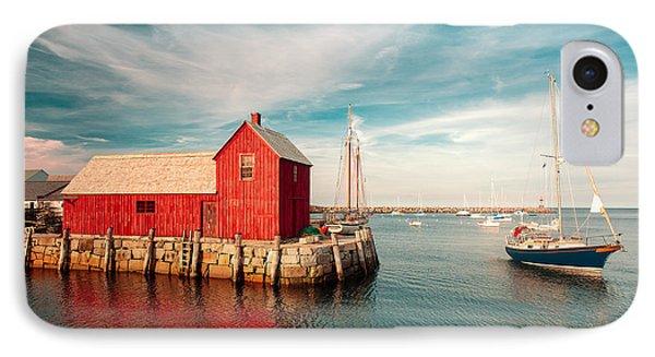 American Fishing Shack IPhone Case by Todd Klassy