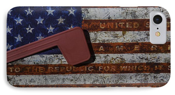 American Flag Mail Box IPhone Case
