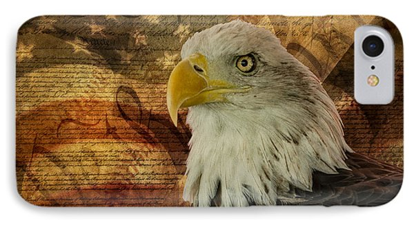 American Icons IPhone Case by Susan Candelario