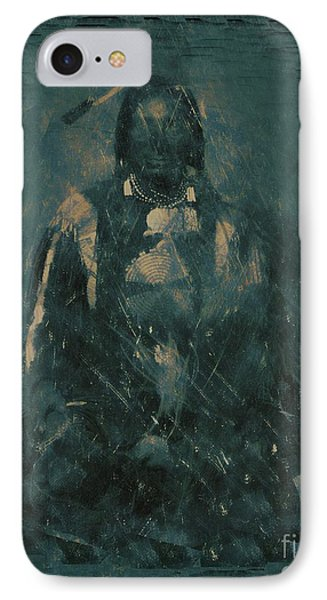 American Indian 1847 IPhone Case by RJ Aguilar