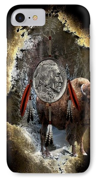 American Indian Dreamcatcher IPhone Case by G Berry