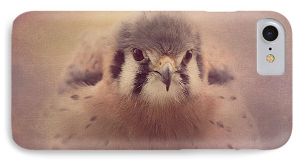 IPhone Case featuring the photograph American Kestrel 2 by Chris Scroggins