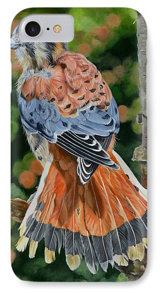 American Kestrel In My Garden IPhone Case