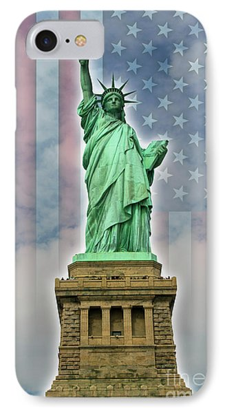 American Liberty IPhone Case by Timothy Lowry