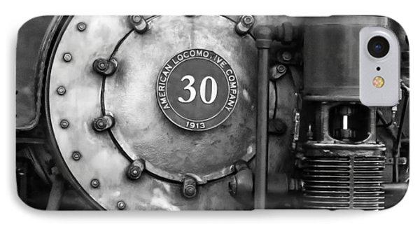 American Locomotive Company #30 IPhone Case by Scott Hansen