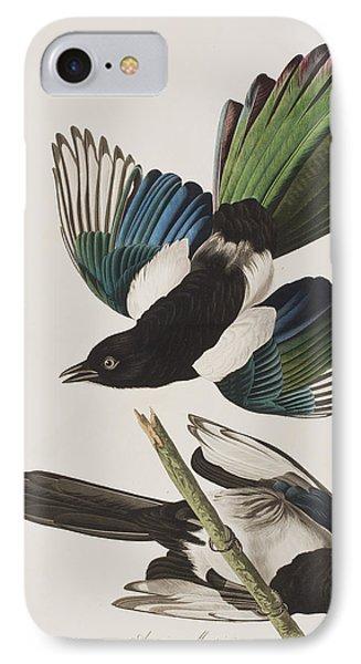 American Magpie IPhone 7 Case by John James Audubon