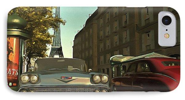 American  Oldtimers In Paris IPhone Case