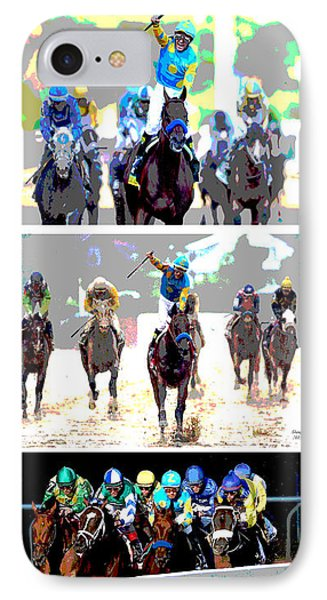 American Pharoah IPhone Case by Charles Shoup