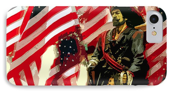 American Pirate Phone Case by David Lee Thompson