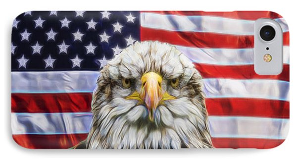 IPhone Case featuring the photograph American Pride by Scott Carruthers