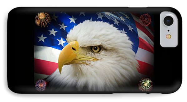 American Pride IPhone Case by Shane Bechler