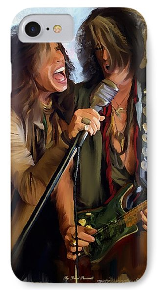 American Rock  Steven Tyler And Joe Perry IPhone Case