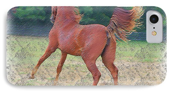 American Saddlebred Filly IPhone Case by EricaMaxine  Price