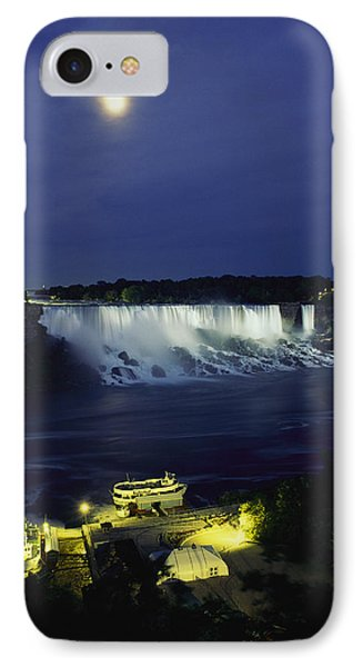 American Side Of Niagara Falls, Seen Phone Case by Richard Nowitz