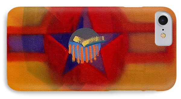 IPhone Case featuring the painting American Sub Decal by Charles Stuart
