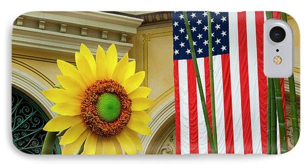 American Sunflower Phone Case by Rae Tucker