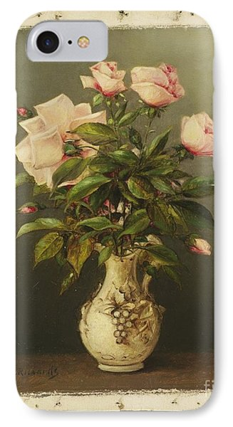 American Title Vase Of Roses IPhone Case