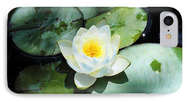 American Water Lilies IPhone Case by J Jaiam