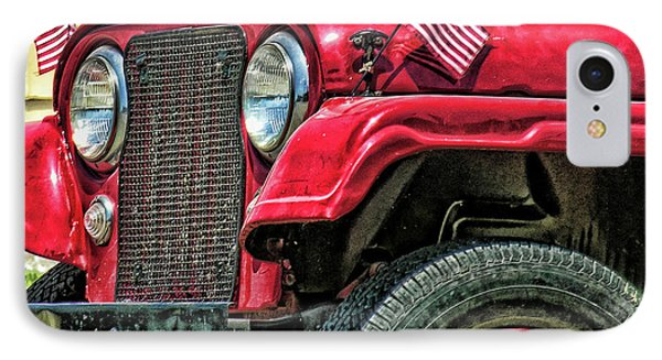 American Willys IPhone Case by Adam Vance