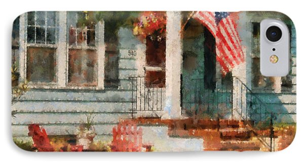 Americana - America The Beautiful Phone Case by Mike Savad