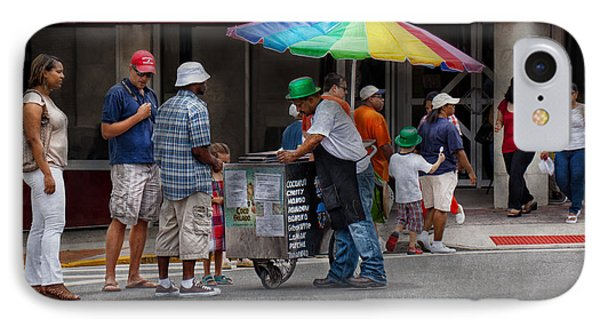Americana - Mountainside Nj - Buying Ices  IPhone Case by Mike Savad