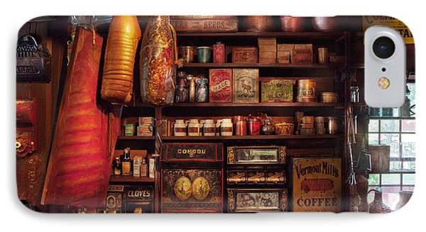 Americana - Store - The Local Grocers  Phone Case by Mike Savad