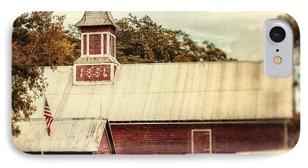 Americana Barn Phone Case by Lisa Russo