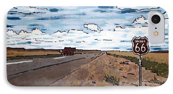 Americana No.1 Route 66 No. 6 IPhone Case